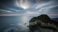 Flamboroughs Warp Drive Sky (Justin Cameron) Tags: lee longexposure coastline sky neutraldensity leegraduatedfilter leebigstopper water ndfilter le canon5dmkiii canon coast flamboroughhead rocks breathtakinglandscapes