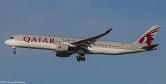 Qatar Airways, A7-ALF, 2015 Airbus A350-941 XWB, MSN 011 (Gene Delaney) Tags: qatarairways a7alf 2015airbusa350941xwb msn011