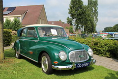 1962 DKW 1000S (Davydutchy) Tags: auto holland classic netherlands car automobile nederland august s voiture bil vehicle oldtimer paysbas 1000 drente drenthe dkw twostroke niederlande 1000s klassiker 2015 klassiek vetern ruinerwold oldtimerdag automobiel tweetakt zweitakt