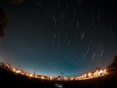 Startrails.- (Jorge Shoots) Tags: espaa night sunrise de stars lluvia sevilla movimiento agosto estrellas startrails 2015 gopro gopro4 jorgeshoots jorgeshootsadventures