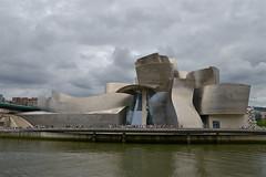 Guggenheim Bilbao (lepublicnme) Tags: art museum spain august bilbao guggenheim 2015