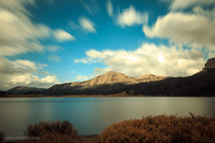 Welding Glass Long Exposure of Brooks Lake (Lance Laurence) Tags: longexposure autumn fall landscape colorful tokina wyoming brookslake weldingglass canon6d