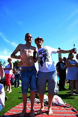"""Plymouth Pride 2015 - Plymouth Hoe -w • <a style=""""font-size:0.8em;"""" href=""""http://www.flickr.com/photos/66700933@N06/20600309846/"""" target=""""_blank"""">View on Flickr</a>"""