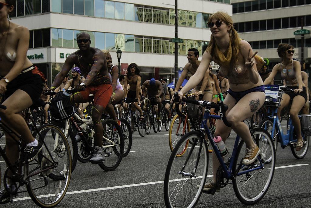Philadelphia naked bike ride reserve