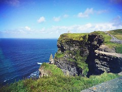 Cliffs of Moher - Ireland, August 2015 (Black_ Soul) Tags: ireland friends sea summer vacation dublin holiday castle apple beautiful landscape photography photo friend estate friendship august verano cliffsofmoher vacaciones vacanze iphone studyholiday iphone5s vscocam saraguglielmi