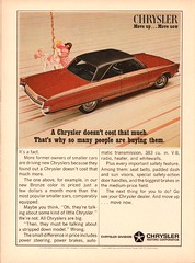 1966 Chrysler Newport Advertisement Newsweek April 25 1966 (SenseiAlan) Tags: 1966 advertisement newport 25 april chrysler newsweek
