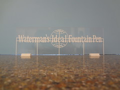 Waterman's Sign (Larry the Lens) Tags: yard cn pen via ideal henderson southwark smileys module watermans stlambert hoscale hotrak protechplastics