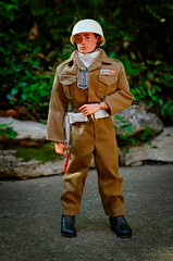 USAF Air Police (Polish Madman) Tags: dog man scarf vintage gijoe toy 40th us backyard nikon doll force action anniversary air tag united helmet tan police joe security 45 sp 1950s ap figure states airforce usaf colt officer 1950 gi policeman protect hasbro actionman cotswold airman as palitoy d3100