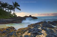 Making a splash at dawn (hazarika) Tags: beach sunrise hawaii waves maui makena weddingbeach mausamhazarikaphotography