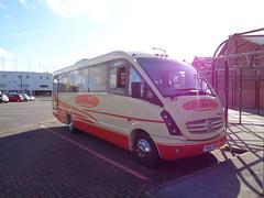 YN60BZW Grayway at Blackpool (j.a.sanderson) Tags: mercedes benz cheetah blackpool coaches plaxton grayway yn60bzw