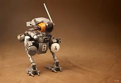 Klutz (_Tiler) Tags: lego scout gans mecha mak sensor recon mechanoid maschinenkrieger lunagans