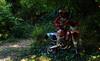 Dark Light (Enrico.mate - Foto/Grafico) Tags: trees red green nature grass forest dark nikon cross mud ground natura motorbike moto driver terra rosso mata enduro bosco foresta 18105 motociclista rossa fango oscurità d3200 18105vr nikonclubit