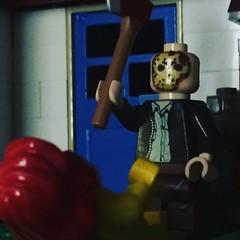 Friday the 13th (Gunner S Lego) Tags: jason lego icon horror friday 13 legend 13th fridaythe13th vorhees