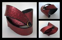 New on-line bracelet workshop (Helen Breil) Tags: polymerclay bracelet briel jewelryjewellery helenbreildesigns