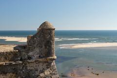 Fort Cacela Velha (t4missa) Tags: algarve cpl cacelavelha portugal riaformosa x2cpl beach ocean polarizer seagul seashore prnpppriaformosa