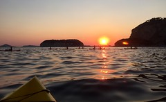 Tramonto su Nisida - Kayak - Napoli (PiE81) Tags: park sunset parco nature landscape kayak natura di napoli monte procida paesaggio nisida gaiola posillipo virgiliano gajola