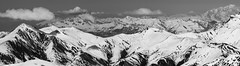 716 (Stephan Wita) Tags: winter panorama mountain snow france alps cold nature clouds high europe skiing altitude sony alpine slope montblanc lightroom rhone isere lesdeuxalps les2alps rhonealps 3800m a6000