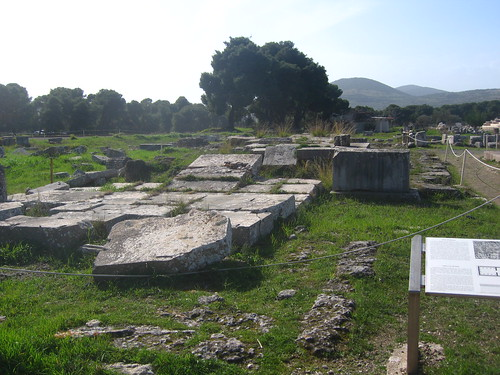 Temple of Artemis at Epidauros sanctuary of Asclepios