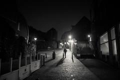 The Fugitive Shadow (Gilderic Photography) Tags: street city light shadow bw silhouette lumix movement belgium belgique belgie ombre panasonic liege ville gilderic lx3 dmclx3
