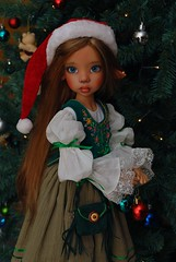 Tansy (Little little mouse) Tags: bjd dollfie tansy kayewiggs tanlaryssa greenjennet outfitbymarthaboers