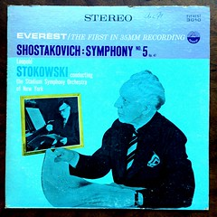 Shostakovich - Symphony No.5 op.47 - Stadium SO, NY, Leopold Stokowski, Everest SDBR-3010, 1958 (Piano Piano!) Tags: ny art album vinyl cover lp record 1958 disc sleeve hoes gramophone 12inch vynil disque schallplatte hulle leopoldstokowski langspeelplaat shostakovichsymphonyno5op47stadiumso everestsdbr3010
