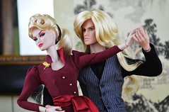 Riot and Phoebe Ashe - Last Tango (Dolldiva67) Tags: fashion toys riot couples phoebe blonde llewellyn royalty rapture ashe bombshell integrity jemandtheholograms thestingers acemcfly