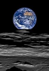 Earth and Limb (my take) (13ericralph31) Tags: moon earth space nasa lunar orbit earthrise orbiter lro reconnaissance astrometrydotnet:status=failed astrometrydotnet:id=nova1368066