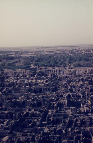 Ruins of Bam, Kerman Province, 1970