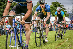 On Track (FotoFling Scotland) Tags: argyll event lochlomond scotland cycling highlandgames luss lusshighlandgames