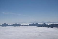 Mer de nuages (Mystycat =^..^=) Tags: nuages montagne ciel france hautespyrénées midipyrénées picdumididebigorre altitude