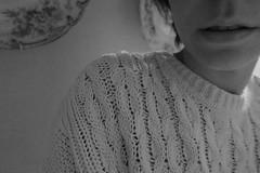 Io (Chiara Seminara) Tags: selfportrait myself canong7x canon bw grain 35mmdiaries noface cut chiaraseminara