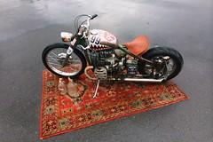 Hell'o moto (Ula Pilula) Tags: motorcycle iron custom hell carpet car hotrod lowrider