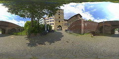 (360x180) Ulm, Germany 12 (Andriy Golovnya (redscorp)) Tags: ulm badenwuerttemberg badenwurttemberg germany oldcity historic landmark architecture building cityscape town city urban panorama equiretangular spherical photosphere 360x180 360 360panorama 360degrees virtualtour tour travel virtualreality vroutside outdors exterior