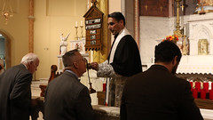 Veneration of Bl Karl Relic (Lawrence OP) Tags: blessedkarlofaustria blessedkarl emperor mass beatus bishop athanasiusschneider washingtondc stmarys chinatown veneration relic