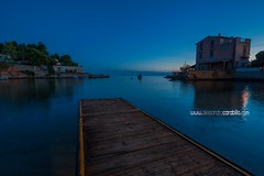 Blue hour  (Alessandro Carabillo') Tags: sea blu bluehour sunrise seascape sicily italy aspra boat harbor october d700 nikon nikor wide wideangle 1735 nofilter wwwalessandrocarabillocom shot supershot magic winter fantastic magicolor