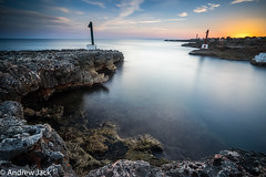 Menorcan Sunset (OnlyEverOneJack) Tags: menorca minorca cala en bosch sony a7 1635mm f4 long exposure sunset dusk coast sea seascape coastline little stopper hard grad 09 hitech lee