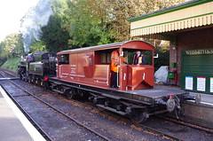 IMGP5787 (Steve Guess) Tags: alton alresford ropley hants hampshire england gb uk train railway engine loco locomotive heritage preserved queen mary sr brake van guards