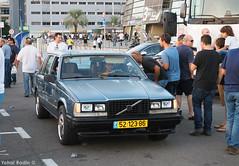 1986 Volvo 740 GLE (Yohai_Rodin) Tags: classic car five club israel tel aviv 5 cars מועדון החמש תל אביב היכל מנורה מכונית קלאסית מכוניות קלאסיות