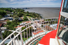 A view from the lighthouse (TimoOK) Tags: uruguay colonia lighthouse majakka