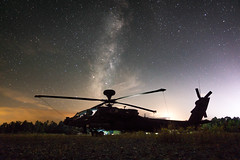 (jlstein339) Tags: sony rx100iv cyber pointnshoot landscape outdoors astrophotography sky stars nebula wideangle wideopen f18 24mm apache jrtc piesonridge ah64d aviation helicopter