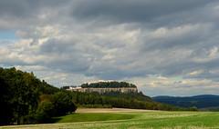 Knigstein (isajachevalier) Tags: knigstein schsischeschweiz elbsandsteingebirge landschaft natur sachsen panasonicdmcfz150