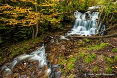 Wagner Falls UP Michigan (Thomas DeHoff) Tags: waterfall long exposure munising michigan sony a700