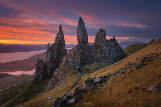 'Sheepish' - The Old Man of Storr, Isle of Skye