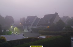 "A sudden early Evening Fog (""Homer's Photography"") Tags: homernew1 homernew1sphotography photography homernew1washere fog amateur lamballe d80 evening beautiful cotesdarmor bretagne breizh bzh france europe eu colors city citylife cityview lights homernew1sodyssey pleasereadmyprofile libertegalitfraternit nature automn nikond80 tamron18200mm dlsr season sky view houses maisonbreton"