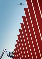 Stairway to Heaven (David.Herrera) Tags: david herrera flemmington australia lines redlines lineas rojo rojas stairs stair stairway heaven ritmo rythm cool chido victoria oceania amazing cabron davidherrera davidherreramx davidherreraphotography fix tarbajador worker aussie australian races yeah