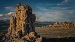 Mono Lake Tufa @ Sunset.jpg (Eye of G Photography) Tags: california monolake monolaketrip sunsetsunrise sunset northamerica tufa usa sierramountians places skyclouds