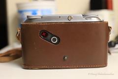 Hmm... that looks odd for a purse! (dheeruparu) Tags: voigtlander bessa ii 6x9 medium format film color skopar 105mm 35 range finder