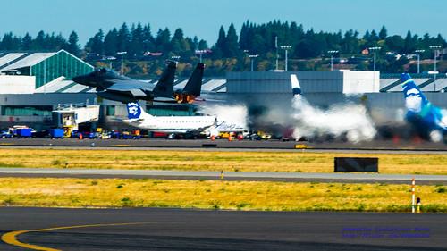 F-15C Departing @FlyPDX
