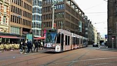 Kleurrijk Amsterdam 4 (Peter ( phonepics only) Eijkman) Tags: amsterdam city combino gvb tram transport trams tramtracks rail rails advertise strassenbahn streetcars nederland netherlands nederlandse noordholland holland
