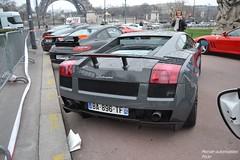 Lamborghini Gallardo Superleggera (Monde-Auto Passion Photos) Tags: auto automobile lamborghini gallardo superleggera coup france rally paris evenement supercar sportive